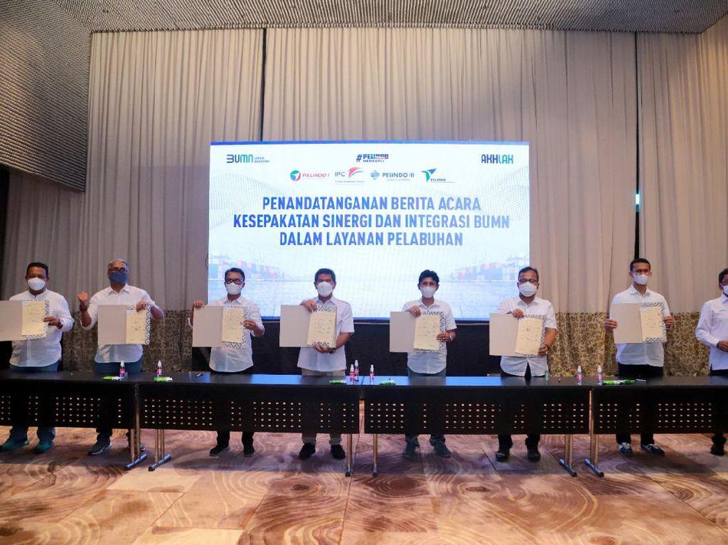 Integrasi Pelindo Dapat Restu & Dukungan dari Serikat Pekerja