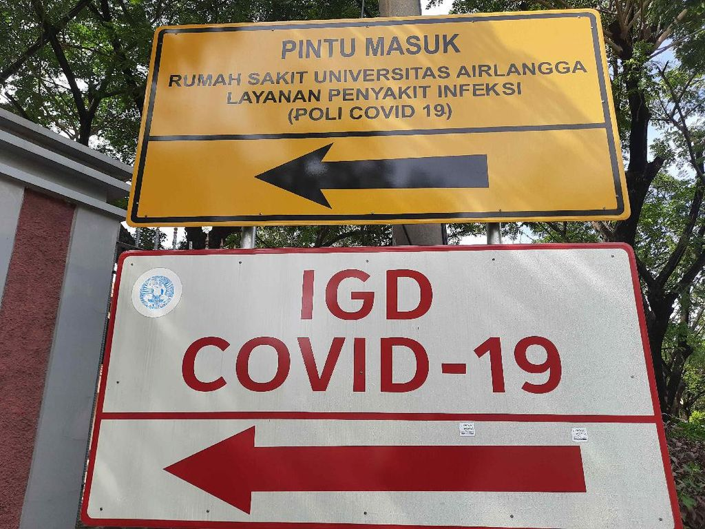 RS Unair Tetap Bertahan Layani Pasien Corona Meski 50 Nakes Terpapar COVID-19