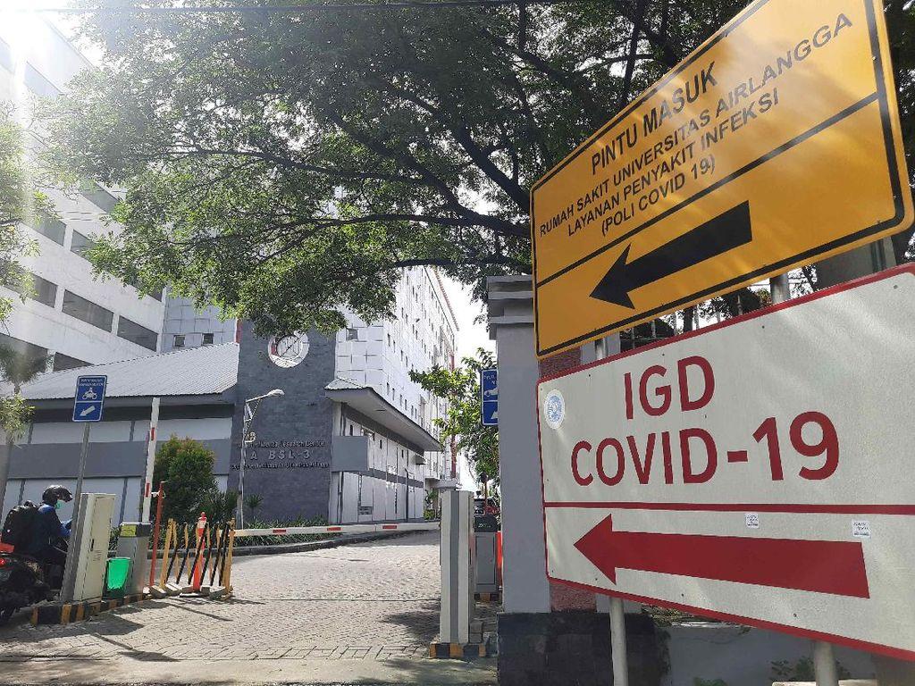 14 IGD di Surabaya Lockdown, RS Unair Tetap Bertahan Terima Pasien COVID-19