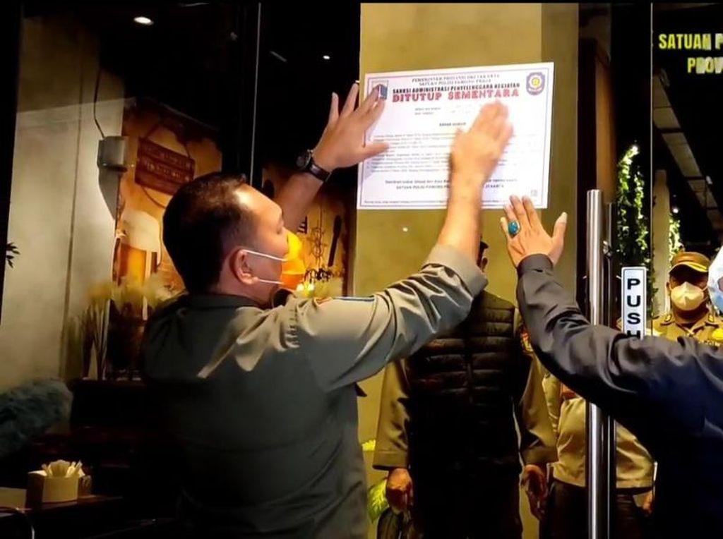 Terungkap WNA Positif Corona Saat Kafe di Jakut Terjaring Razia