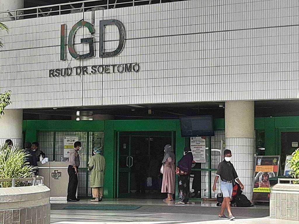 RSU Soetomo Masih Overload, 32 Pasien COVID-19 Tertahan di IGD