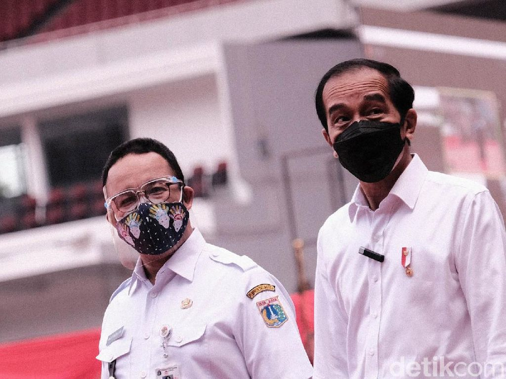 Anies Yakin Target Jokowi 7,5 Juta Vaksin di Jakarta Tercapai Lebih Cepat