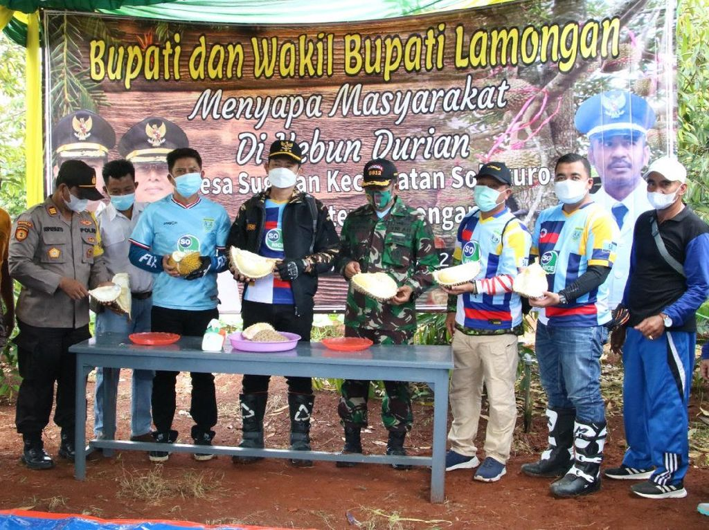 Kebun Durian di Lamongan Ini Berpotensi Jadi Desa Agrowisata