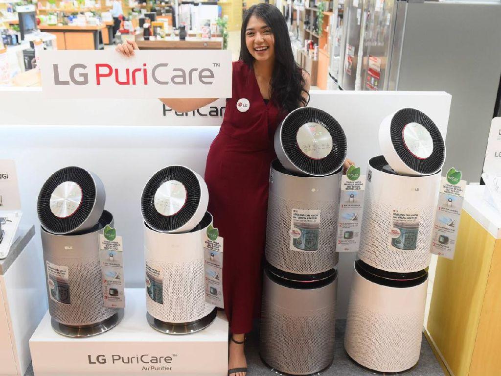 LG PuriCare 360° Air Purifier Bersihkan Udara dengan Jangkauan Luas
