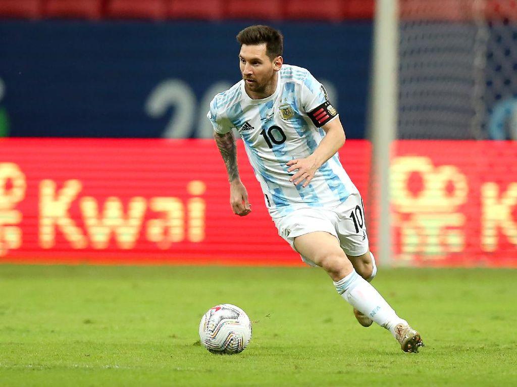 Top Skor Copa America 2021: Lionel Messi Masih di Puncak