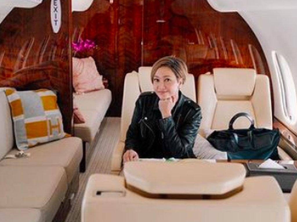Maia Estianty Kaget Ketahui Harga Sewa Jet Pribadi Ratusan Juta