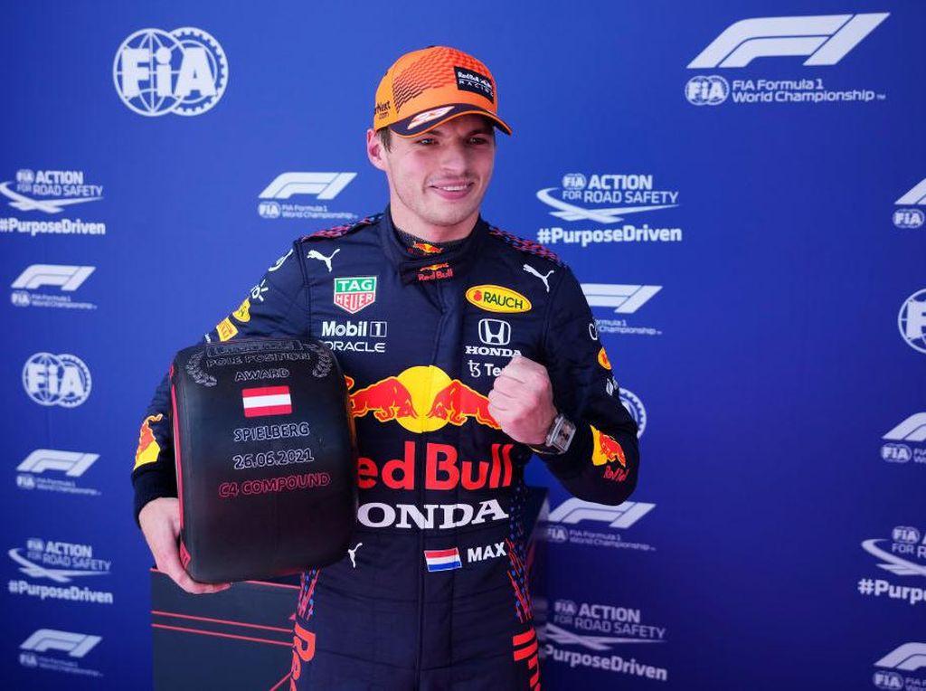 Hasil Kualifikasi F1 GP Styria 2021: Verstappen Rebut Pole Position