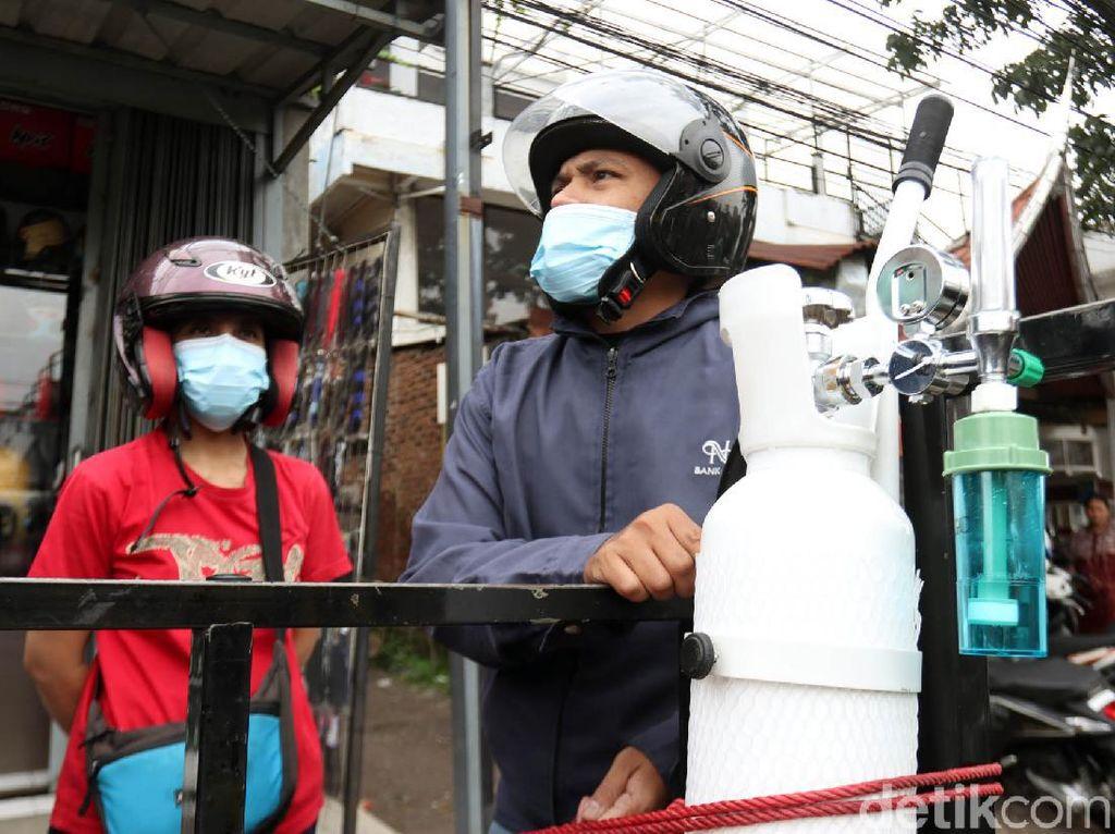 Stok Langka, Harga Tabung Oksigen Ancang-ancang Naik
