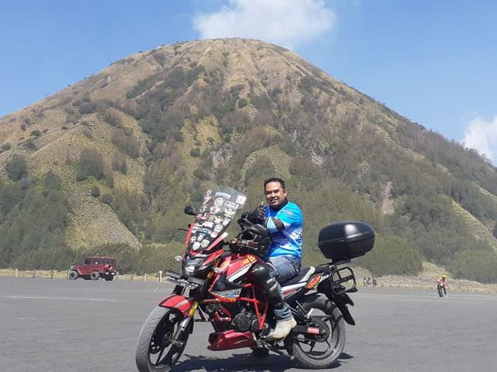 Tips Wisata Naik Motor ke Gunung Bromo Saat Pandemi
