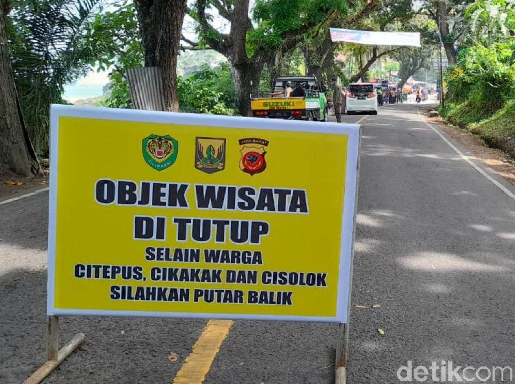 COVID-19 Ngegas, Pemkab Sukabumi Larang Wisatawan Luar Masuk