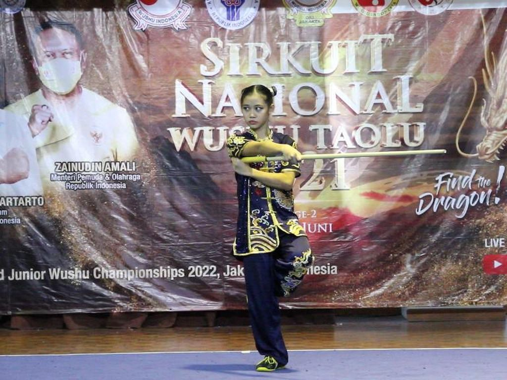 Gweneth dan Terrence Cetak Hat-trick, DKI Jakarta Juara Umum Wushu