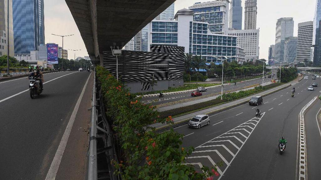 Corona Menggila, Jakarta Lengang di Akhir Pekan
