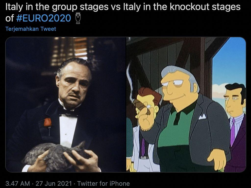 Meme Dinamit Denmark dan Susah Payah Italia