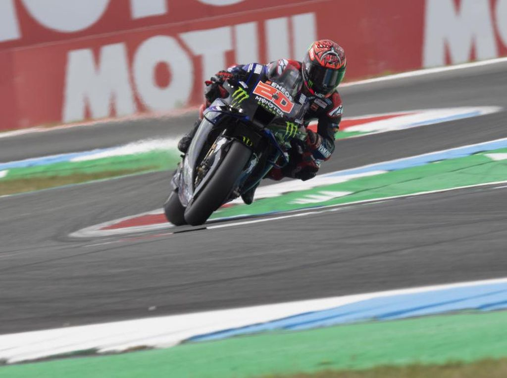 Hasil MotoGP Belanda 2021: Quartararo Juara, Vinales Kedua, Mir Ketiga