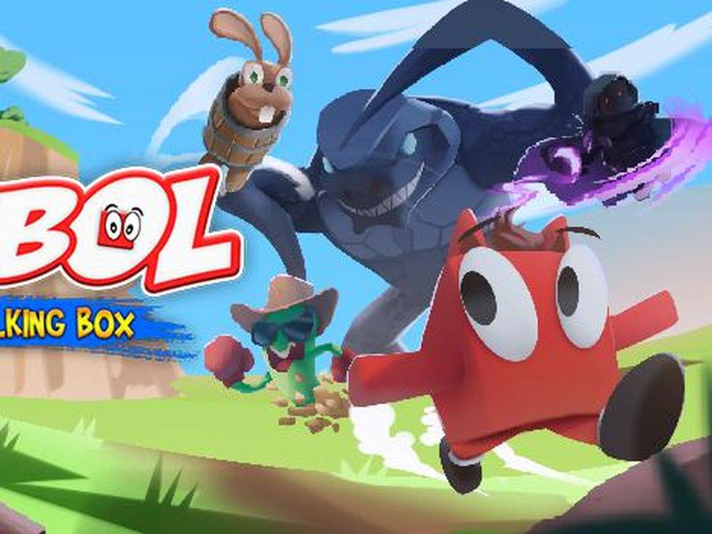 Harga Diskon, Buru Game Indonesia Babol The Walking Box di Steam!