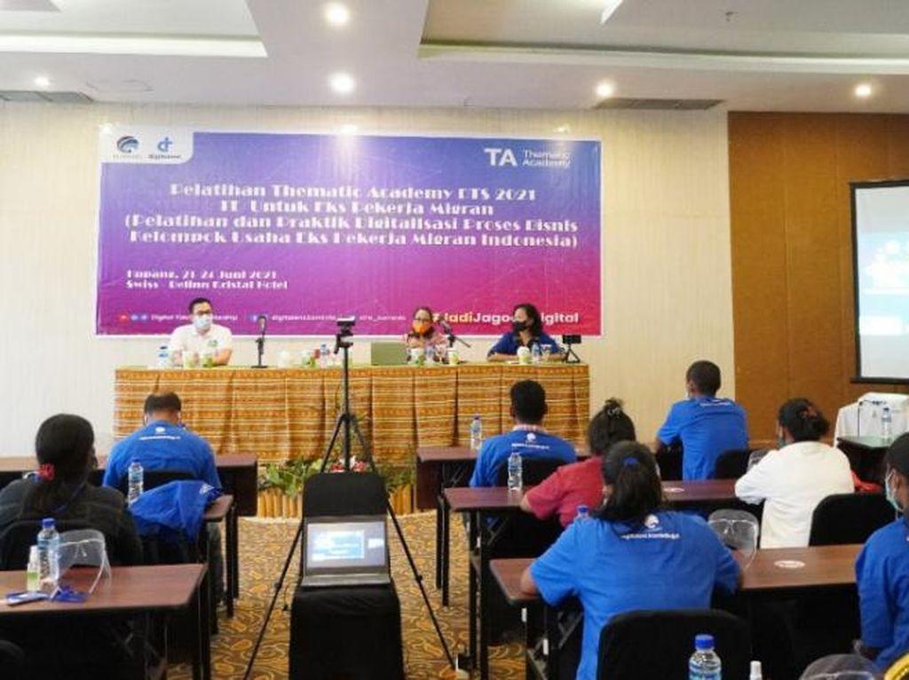 Kominfo Bekali Eks Pekerja Migran Kupang Keterampilan Bisnis Digital
