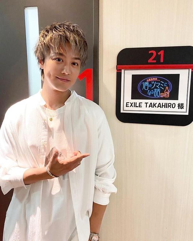 Takahiro, member grup EXILE, ini adalah suami dari aktris Emi Takei.