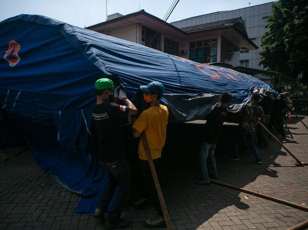 RS Sardjito Bangun Tenda Darurat, Pasien Membludak?