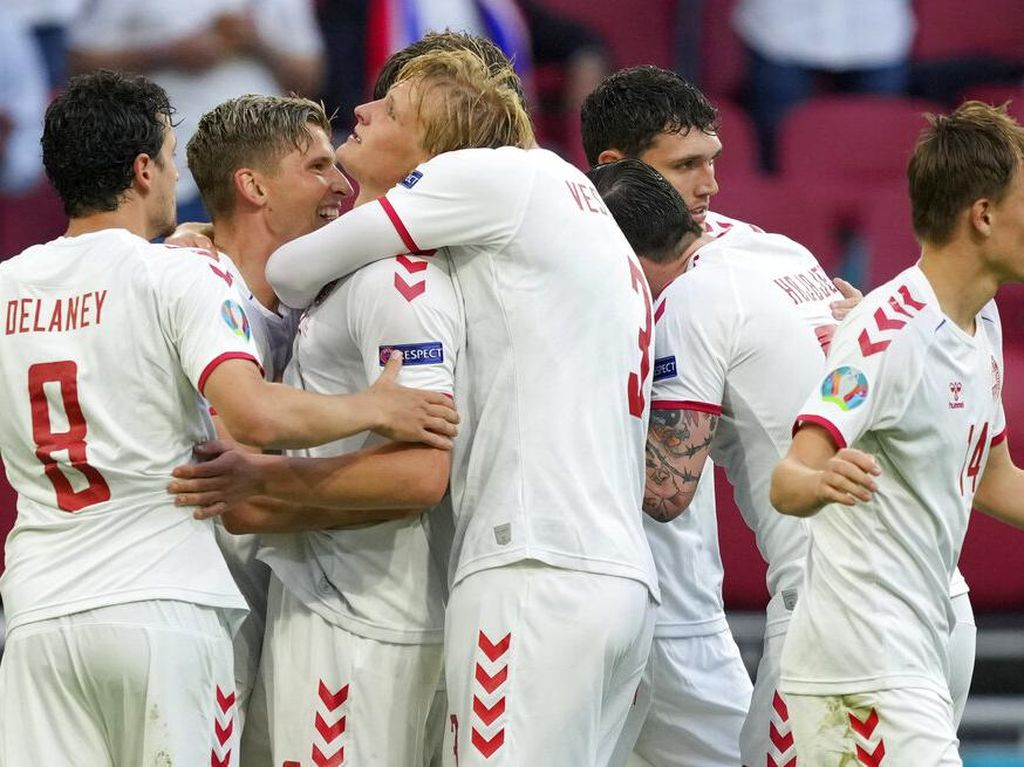 Hasil Wales Vs Denmark: Sikat si Naga 4-0, Tim Dinamit ke Perempatfinal