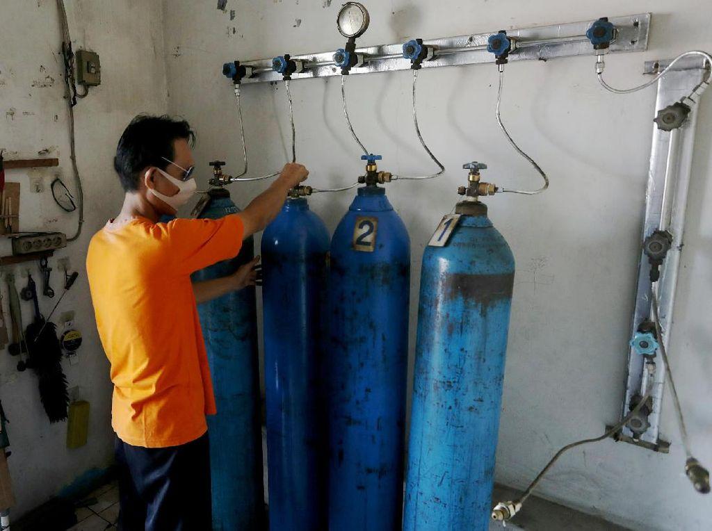 Stok Masih Belum Aman, BUMN Ikut Pasok Oksigen ke RS-Puskesmas