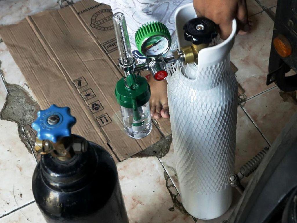 Kemenperin Klaim Stok Oksigen Aman di Tengah Kelangkaan Tabung