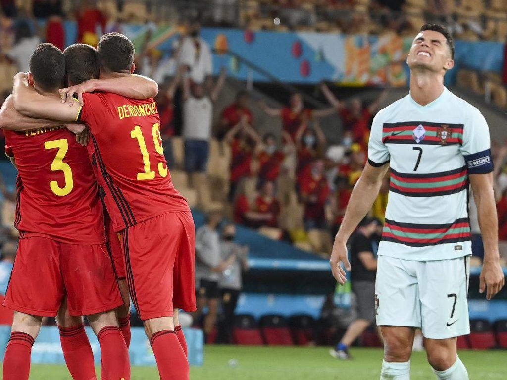 Euro 2020: Ini Kunci Belgia Singkirkan Portugal