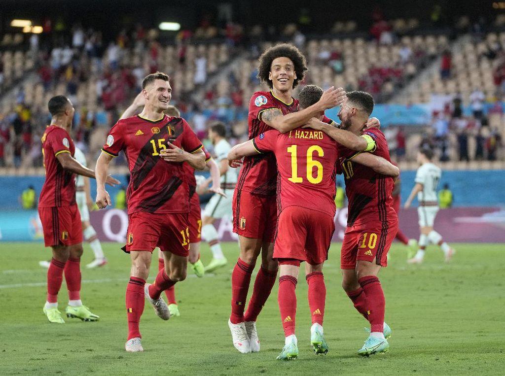 Belgia Vs Portugal: Menang 1-0, Setan Merah Tantang Italia di Perempatfinal