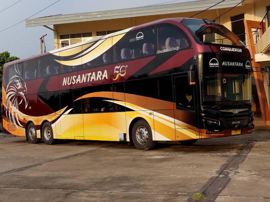 Bukan Volvo B11R, Inilah Bus dengan Tenaga Paling Besar di Indonesia