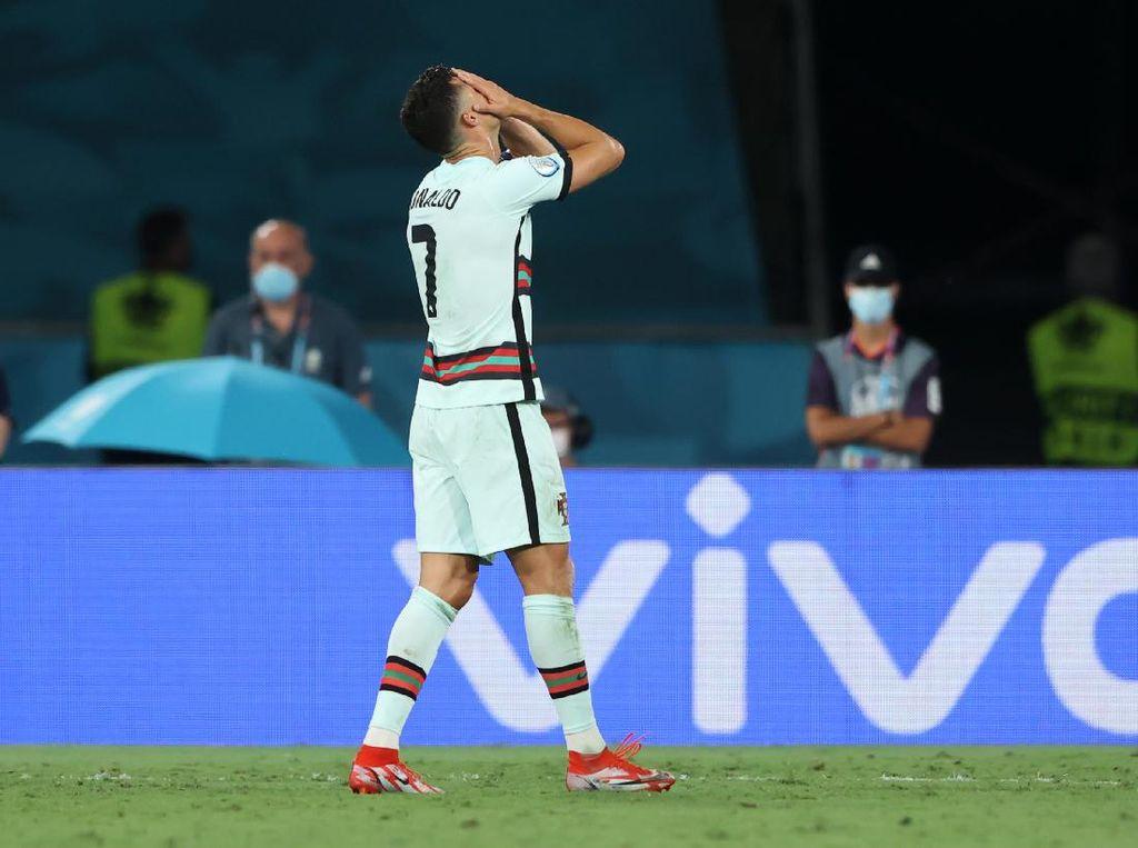 Euro 2020: Pemain Portugal Remuk Redam di Ruang Ganti