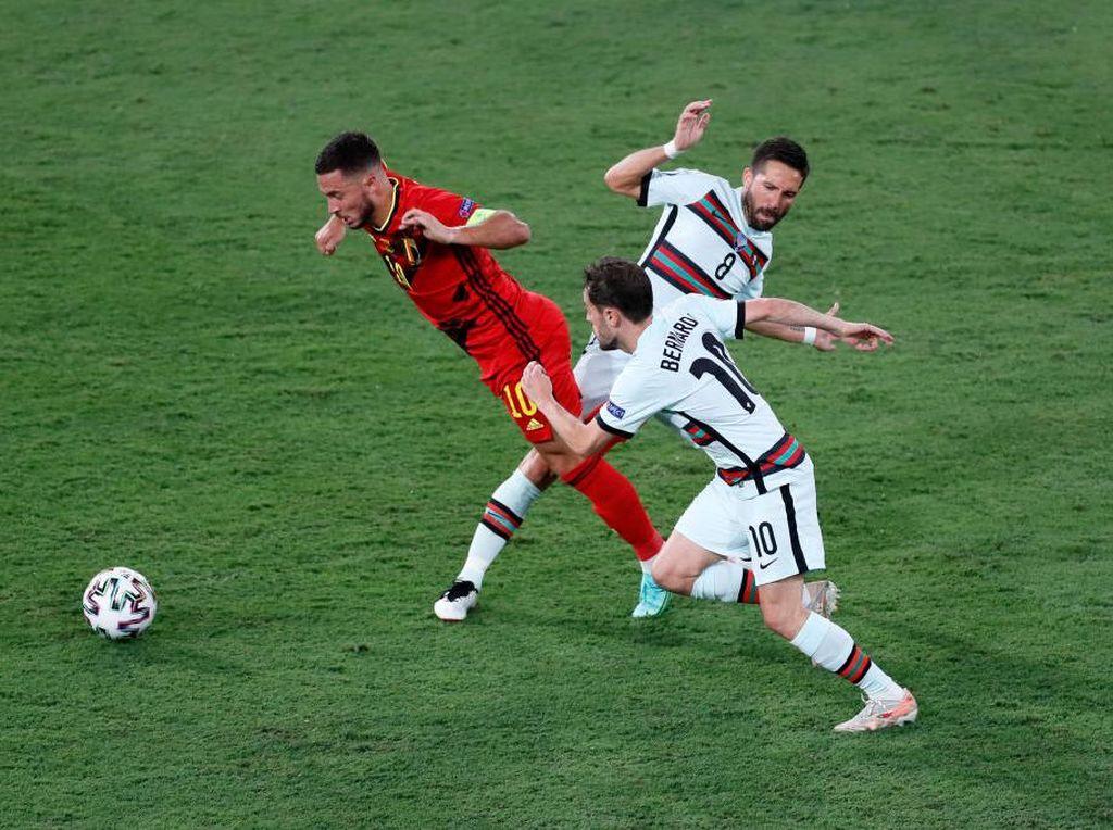 Belgia vs Portugal: De Bruyne & Hazard Cedera, Gimana Lawan Italia?
