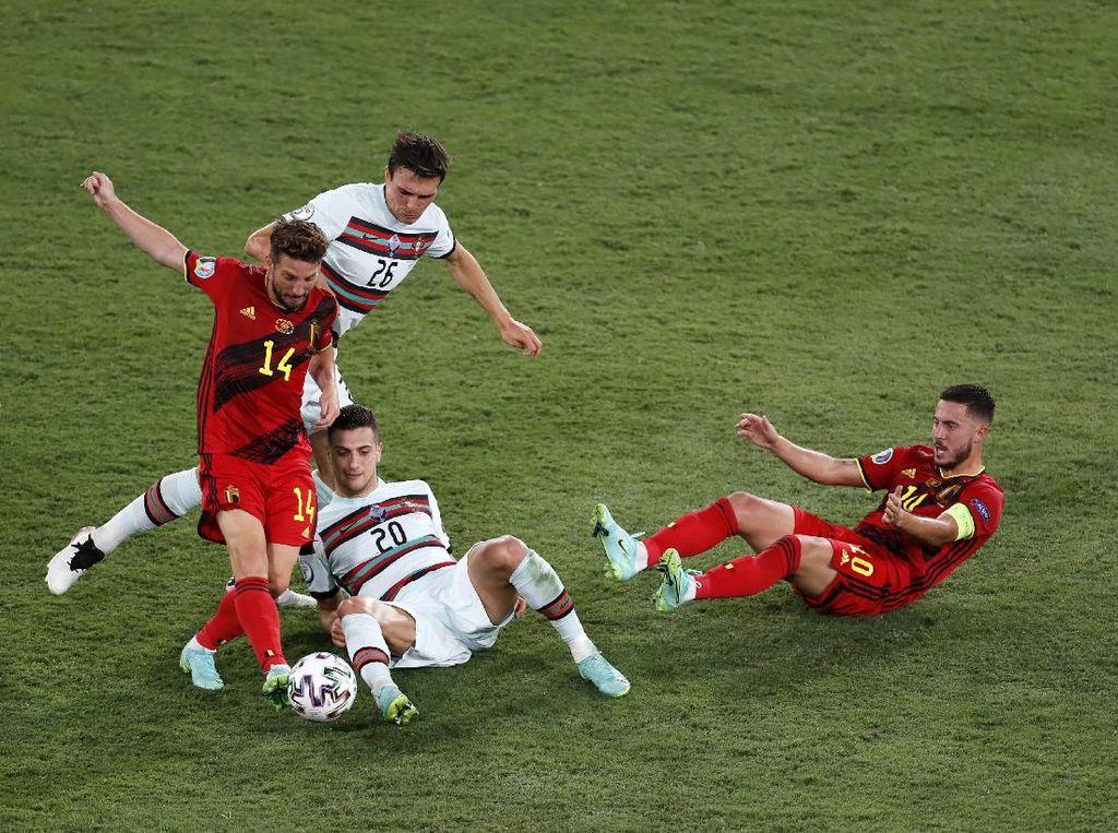 Belgia Singkirkan Portugal dari Euro 2020!