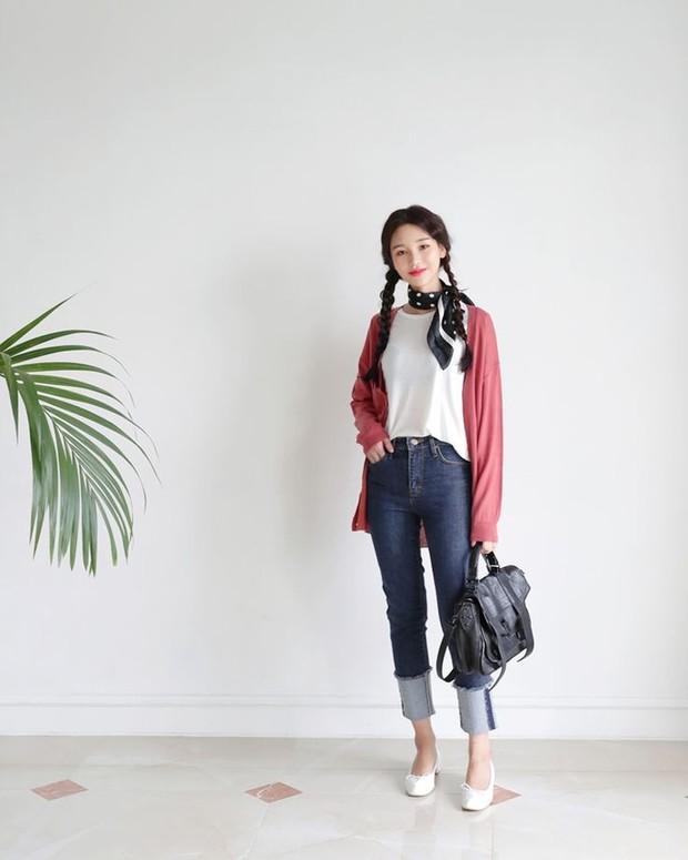 gaya fashion dengan scarf