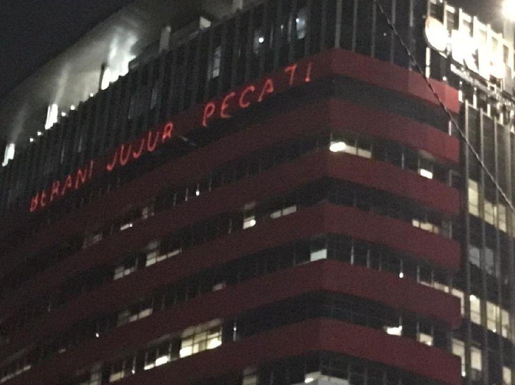 Buntut Gedung Dilaser Berani Jujur Pecat, KPK Lapor ke Polisi