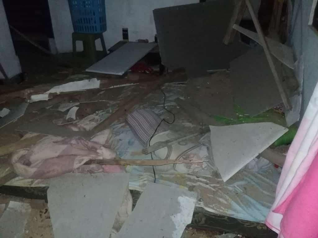 Penampakan Kerusakan Rumah Warga Akibat Gempa Gunungkidul
