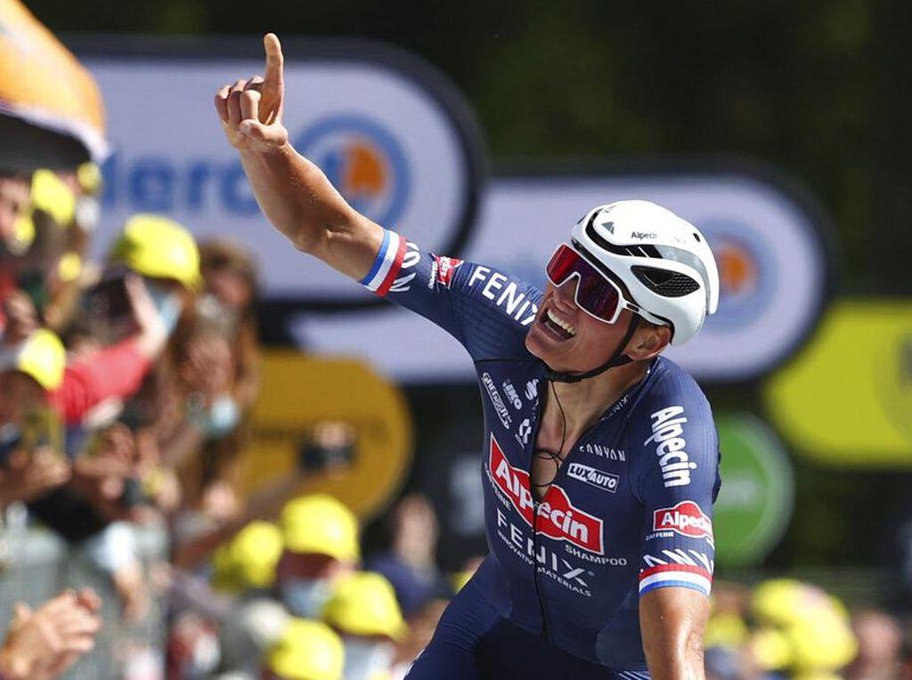 Luapan Ekspresi Kemenangan Van Der Poel