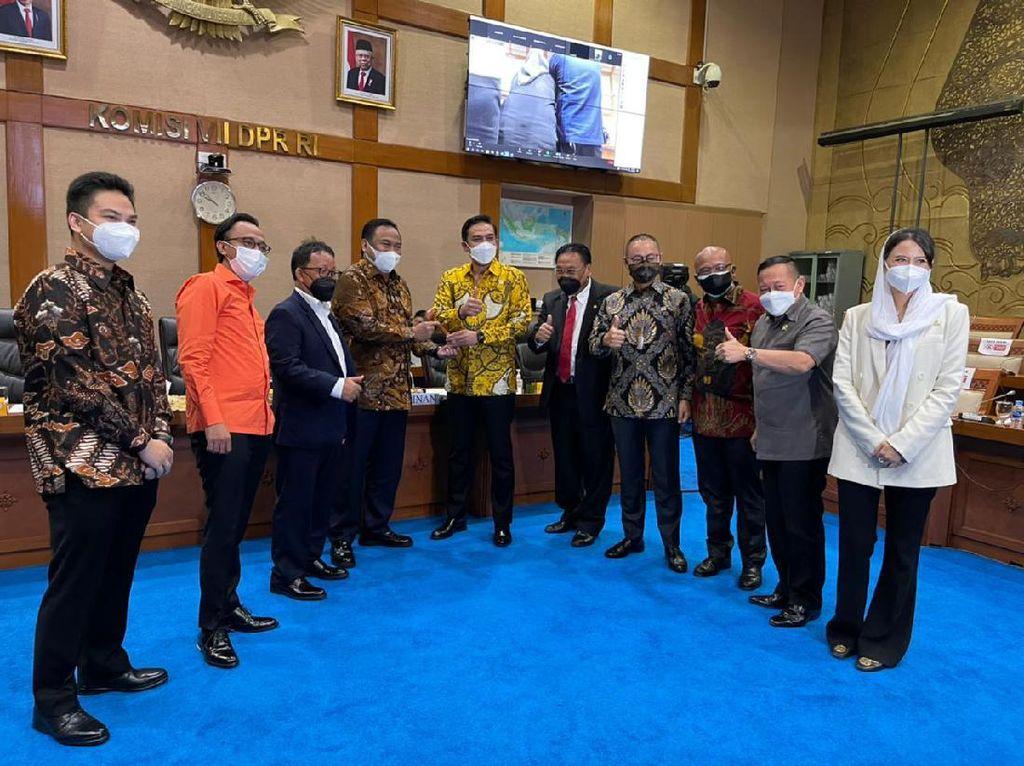 Golkar Ganti Pimpinan Komisi VII dari Alex Noerdin ke Maman Abdurrahman
