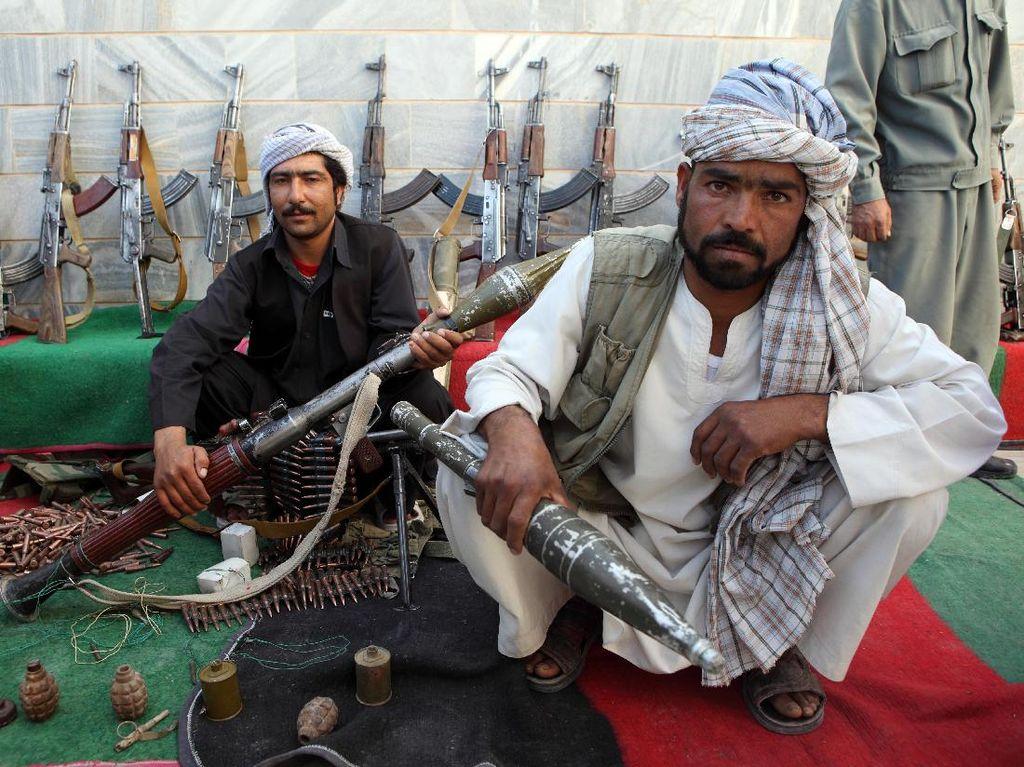 Taliban Ambil Alih Pos Polisi Herat di Afghanistan