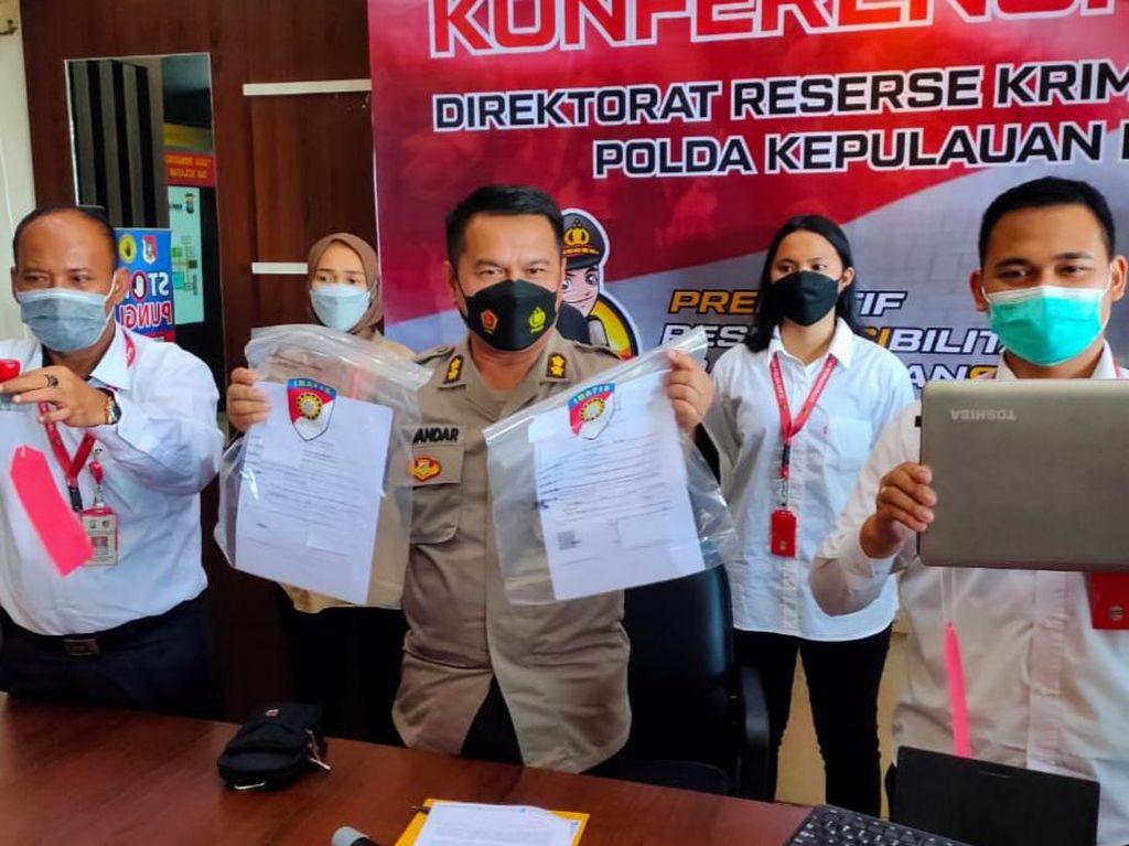 Palsukan Surat Tes Antigen untuk Lamar Kerja, Wanita di Batam Ditangkap