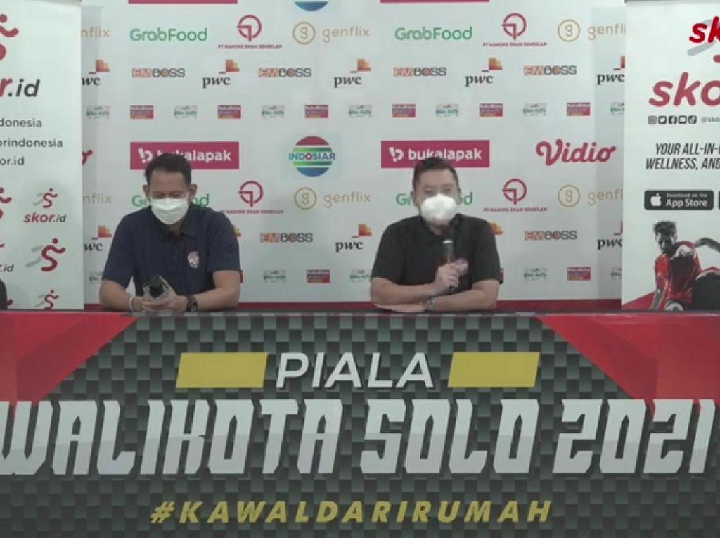 Piala Wali Kota Solo Ditunda Lagi, OC: Dukung Penanganan COVID-19
