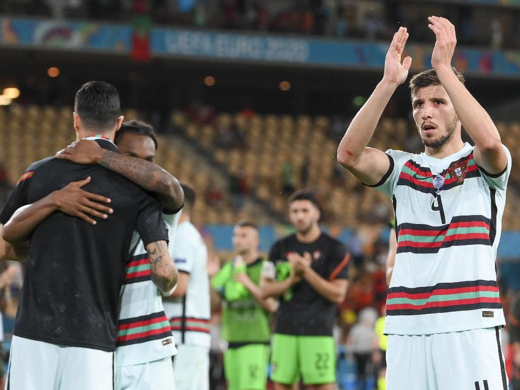 Portugal Out, Ruben Dias: Bolanya Tak Mau Masuk Gawang Belgia