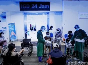 Rumah Sakit Akhirnya Stagnan