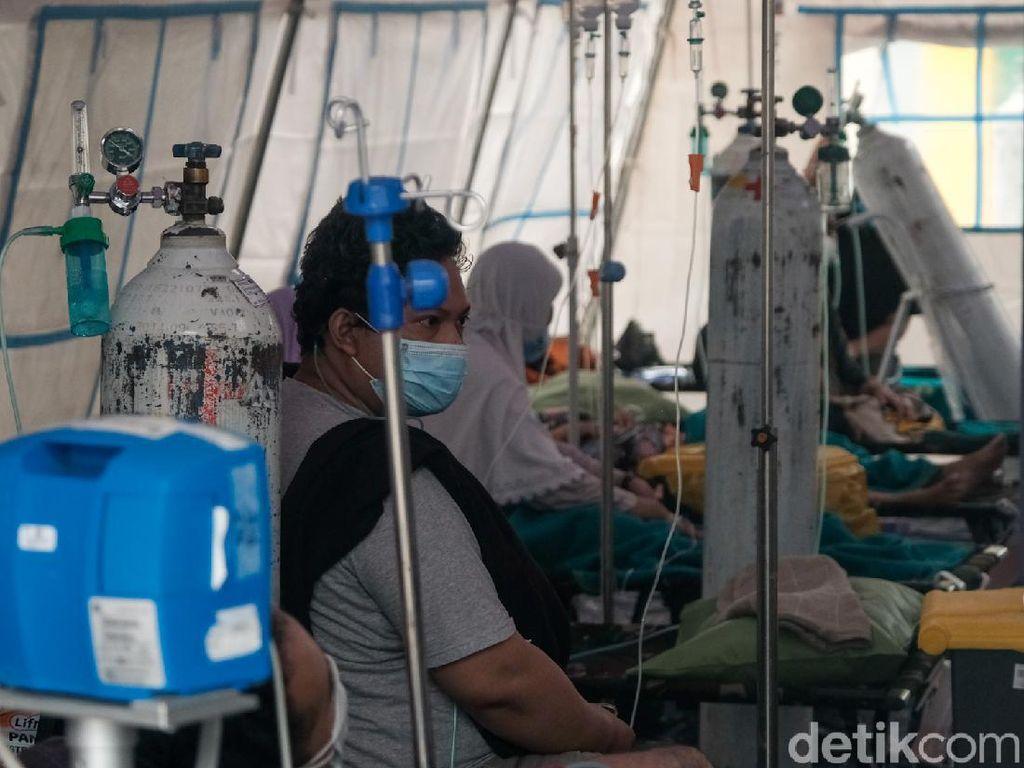 Cetak Rekor, Kasus COVID-19 Harian Indonesia Tertinggi ke-3 di Dunia