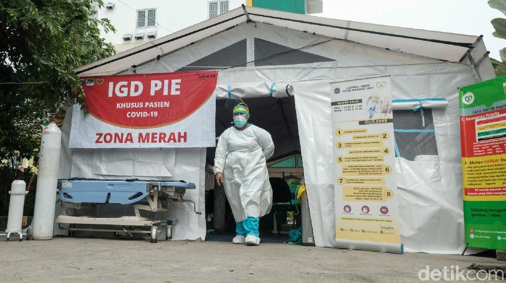 Rumah Sakit di Jakarta Siaga Tenda Darurat Imbas Corona Menggila