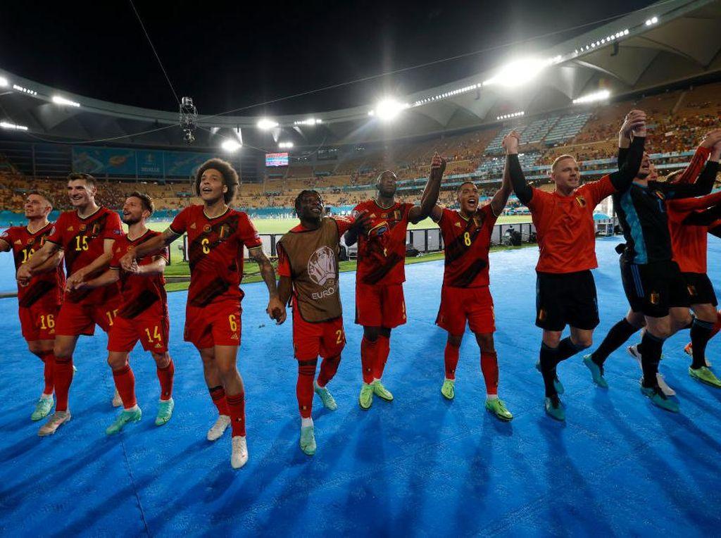 Hasil 16 Besar Euro 2020 Semalam: Ceko dan Belgia Melaju