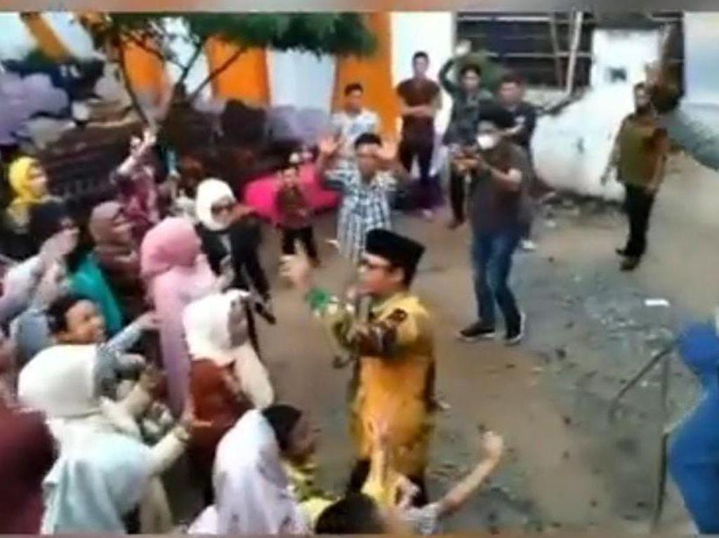 Geger Wabup Lampung Tengah Dipolisikan Sebab Joget Tak Pakai Masker