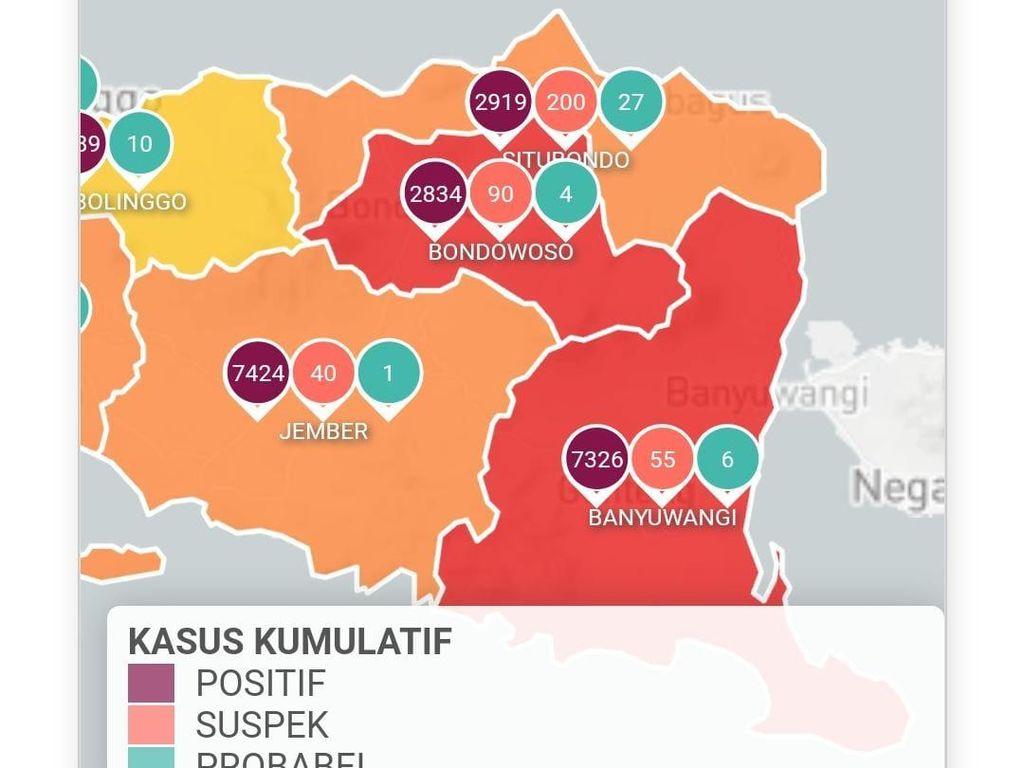 Banyuwangi Berubah Status Zona Merah Corona
