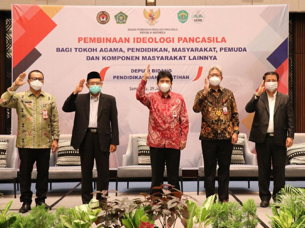 Pembinaan Ideologi Pancasila Dinilai Solusi Atasi Masalah Bangsa
