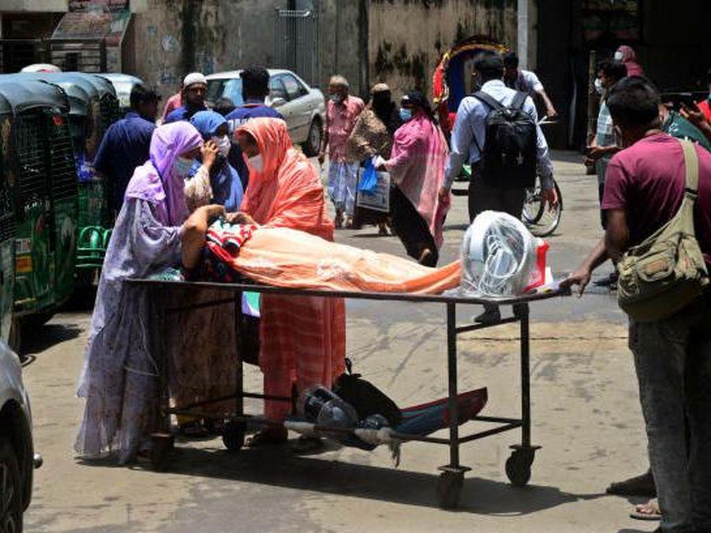 Larangan Keras Keluar Rumah saat Bangladesh Lockdown Hadapi Wabah