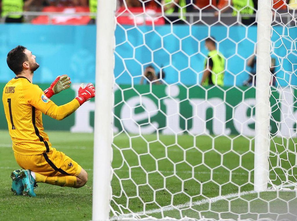 Satu Penyesalan Lloris Usai Prancis Terdepak di Euro 2020