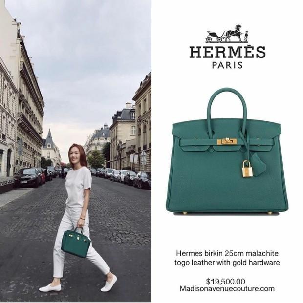 Jessica dengan koleksi tas dari Hermes